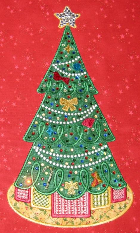 large christmas tree collage. Black Bedroom Furniture Sets. Home Design Ideas